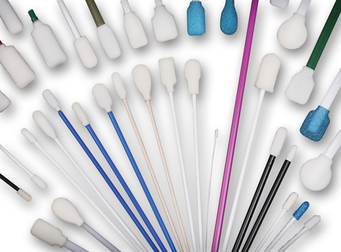 Collection of Foam Swabs