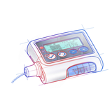 PS Rendering Insulin pump