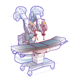 PS Rendering Surgical Robot