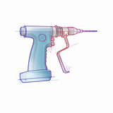 PS Rendering Surgical drill