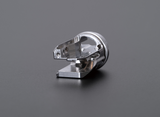 Stainless steel multifaceted, oblique machining