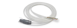 TPU co-extruded ablation cable with tubing, wire and Gii Purpose-Built Connector; power, signal, saline, suction, gas, cooling system