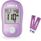 VQ Pet™ H Blood Glucose Monitoring System For Pet Use