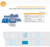Disposable Sterile Ophtalmic Pack