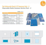 Disposable Sterile C Section Pack
