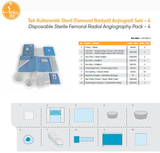 Disposable Sterile Femoral Radial Angiography Pack