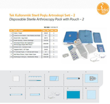 Disposable Sterile Arthroscopy Pack