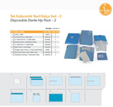 Disposable Sterile Hip Pack