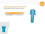 Disposable Sterile TUR Surgical Gowns