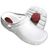 clog eva anti static white