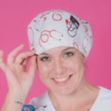 long hair surgical cap vital signs