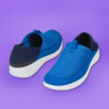 feel flex medium blue sneakers (1)
