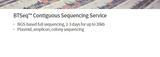 BTSeq™ Contiguous Sequencing Service