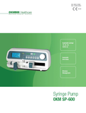 SP600 SYRINGE PUMP