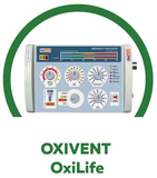 OXIVENT OXILIFE TRANSPORT VENTILATOR FOR ADULT, PED. & CHILDREN USE