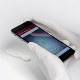 Novarum smartphone diagnostic test reader