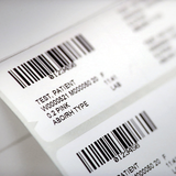 Printed hospital labels