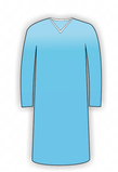 Long Sleeve Patient Gown