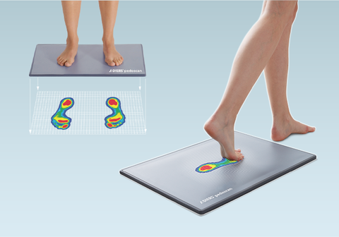 DIERS pedoscan | Static and Dynamic Foot Pressure Measurement