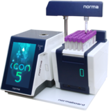 Norma Autoloader with Icon-5 hematology analyzer
