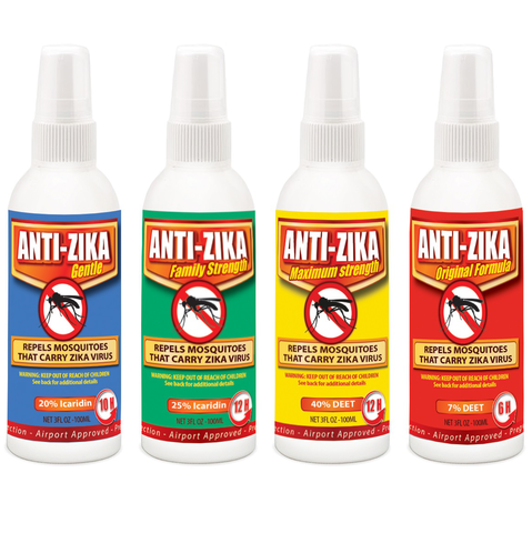 ANTI ZIKA 4pcs