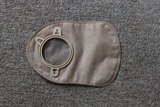 two pieces close stomy bag, Embedded type