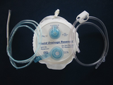closed wound drainage set