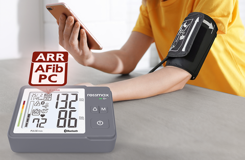 """ROSSMAX - Z5-AUTOMATIC BLUETOOTH BLOOD PRESSURE MONITOR WITH """"EARLY DETECTION OF ATRIAL FIBRILLATION"""""""