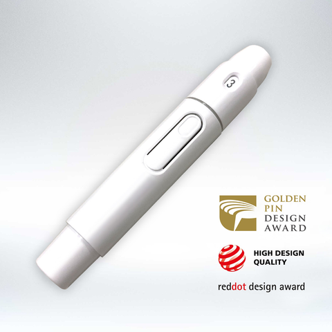 ROSSMAX - NEW UPDATED LANCING DEVICE - BLOOD GLUCOSE MANAGEMENT