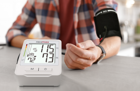 ROSSMAX- Z1 BLOOD PRESSURE MONITOR WITH USB POWER SUPPLY