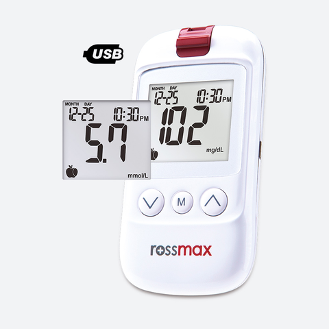 HS200 USB Blood Glucose Monitoring System