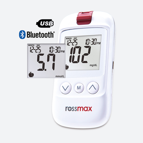 HS200 BT+USB Blood Glucose Monitoring System