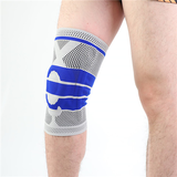 knee brace with pads and springs