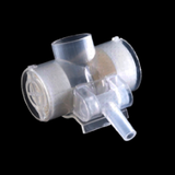 LB423001 Tracheostomy Filter with Oxygen Port