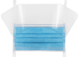 Fluid Resistant Surgical Masks With Shields