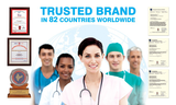 Trusted Brand in 82 countries