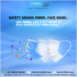 RIBBEL 3LAYERS MASK