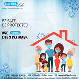 RIBBEL 3PLY MASK SAFE