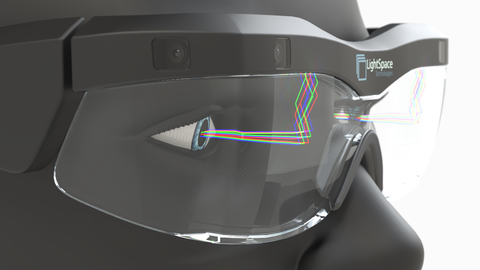 Miniaturized Augmented Reality glasses