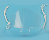 One-piece Transparent Plastic Clear Face Mask