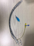 Reinforced Endotracheal tube with suction port with stylet