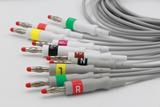 One-Piece EKG Cable With 10-Lead Wire
