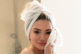 DISPOSABLE HAIR DRYING TOWEL
