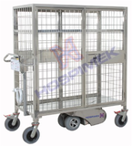 Motorized Rod Mesh Trolley