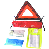 3 in 1 set with Triangle Warning and Reflective Vest first aid kit 13164 medical bag