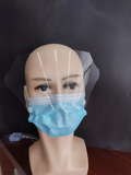 Mask with Face Shield Front