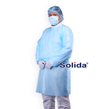 SOLIDA Isolation Gown PP - Light Blue