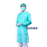 SOLIDA Isolation Gown PP - Light Green