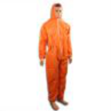 orange microporous coverall with boots50453634572