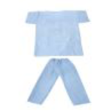 disposable medical clothing set regular style32218669411
